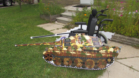 Tank Wheelchair Costume Childu0027s & Tank Wheelchair Costume Childu0027s u2013 Rolling Buddies