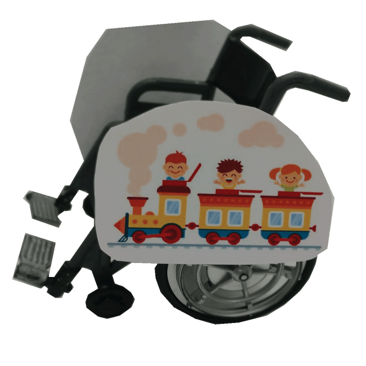 Friends On A Train Wheelchair Costume Child's