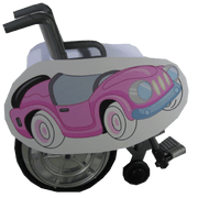 Mini Lookalike Car Wheelchair Costume Child's