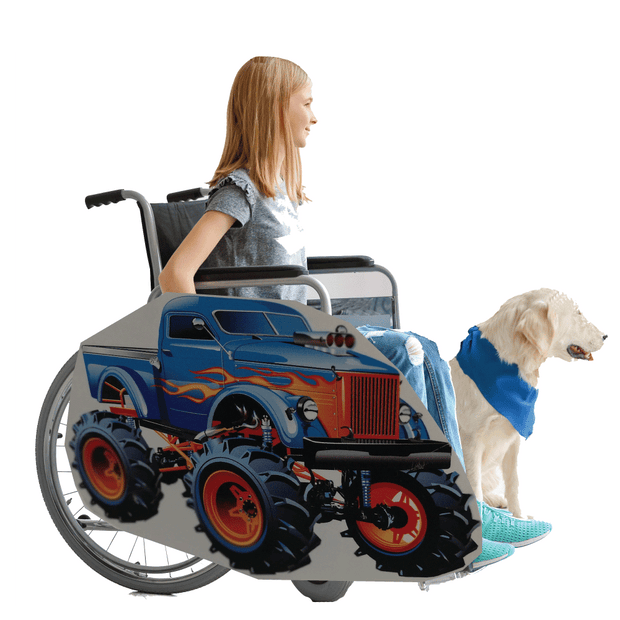 Monster Truck Wheelchair Costume Child's