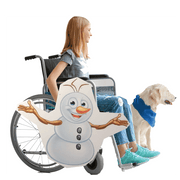 Snowman Olaf Lookalike Wheelchair Costume Child's