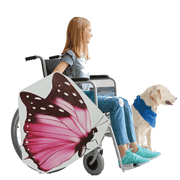 Pink Butterfly Wheelchair Costume Child's