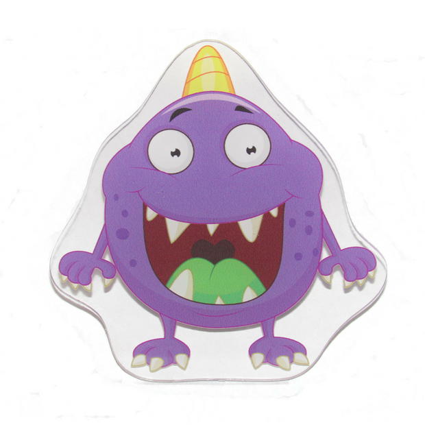 Purple Monster Decoration Panel