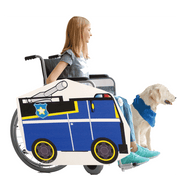 Paw Patrol Lookalike Wheelchair Costume Child's