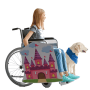 Pink Castle Wheelchair Costume Child's