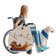 Pirate Ship Mermaid Wheelchair Costume Child's
