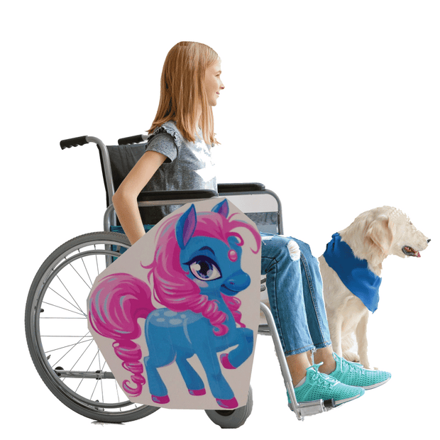 My Little Pony Lookalike 2 Wheelchair Costume Child's
