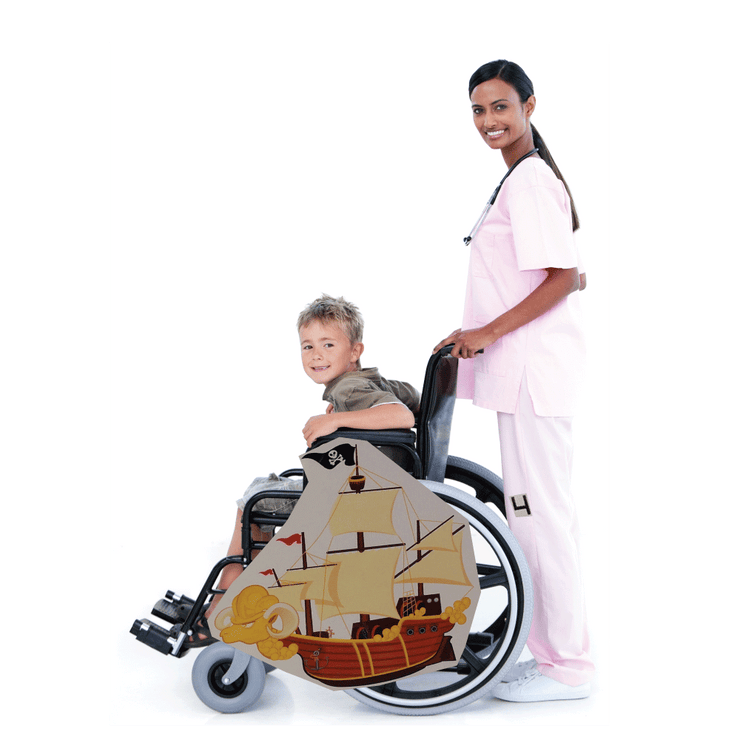 Ram Pirate Ship Wheelchair Costume Child's