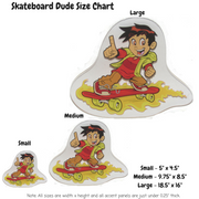 Skateboard Dude Decoration Panel