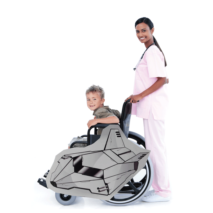 Space Cruiser A Wheelchair Costume Child's