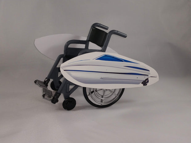Speed Boat Wheelchair Costume Child's