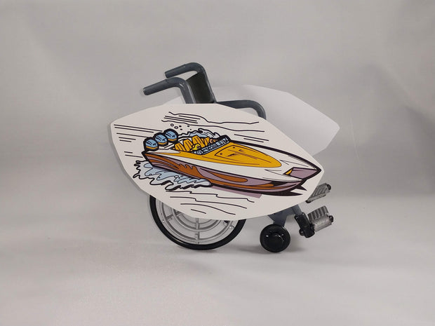 Jet Boat Wheelchair Costume Child's
