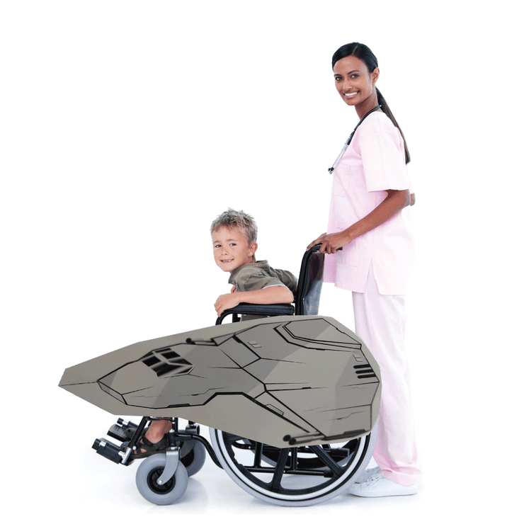 Space Wars 4 Wheelchair Costume Child's