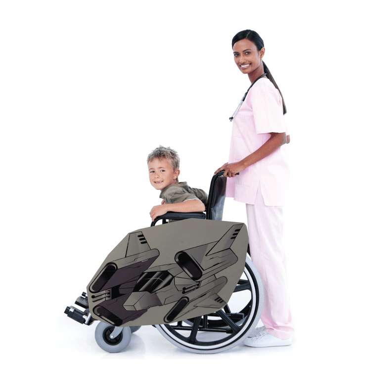 Space Wars 3 Wheelchair Costume Child's