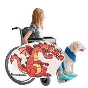 Three Headed Dragon Wheelchair Costume Child's