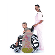 Fairy Tale Tower with Dragon Wheelchair Costume Child's