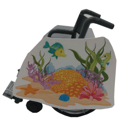 Under the sea 2 Wheelchair Costume Child's