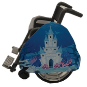 Under The Sea Castle Wheelchair Costume Child's