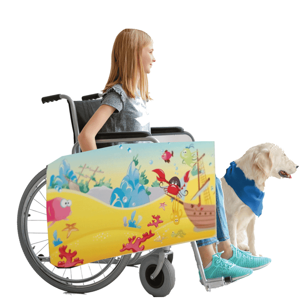 Under the Sea Wheelchair Costume Child's