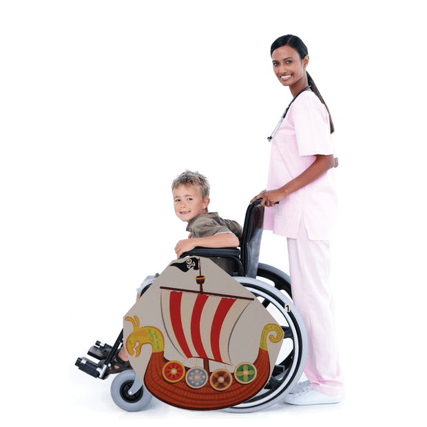 Sea Lion Pirate Ship Wheelchair Costume Child's