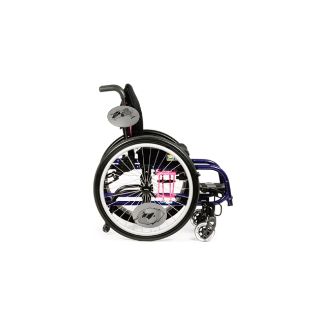 Space Wars Fighter Wheelchair Decoration