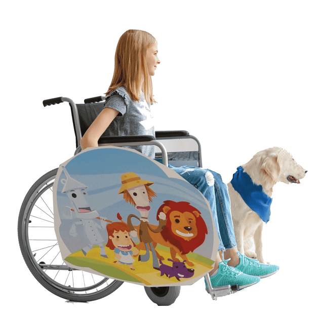 Wizard of Oz Lookalike Wheelchair Costume Child's