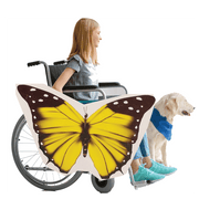 Yellow Butterfly Wheelchair Costume Child's