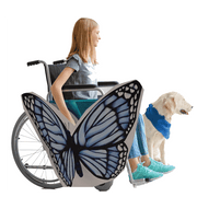 Blue Butterfly Wheelchair Costume Child's