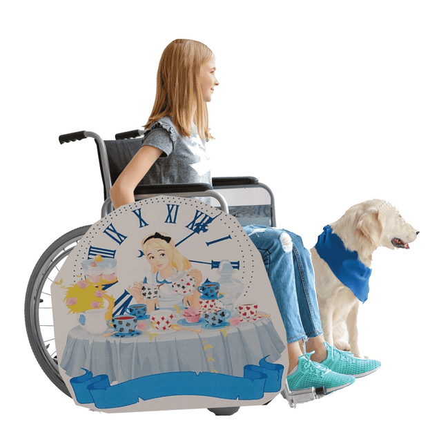 Alice in Wonderland 2 Lookalike Wheelchair Costume Child's