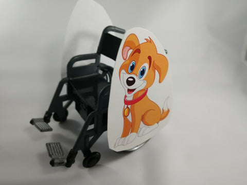 Dog Wheelchair Costume Child's