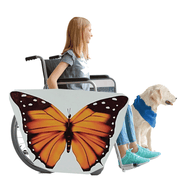 Orange Butterfly Wheelchair Costume Child's