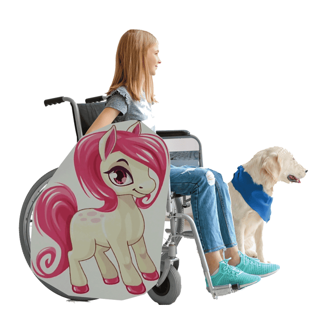 My Little Pony Lookalike 4 Wheelchair Costume Child'