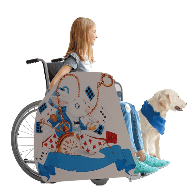 Alice in Wonderland Lookalike Wheelchair Costume Child's