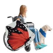 Red Butterfly Wheelchair Costume Child's