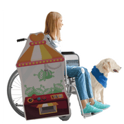 Toy Story Claw Machine Lookalike Wheelchair Costume Child's