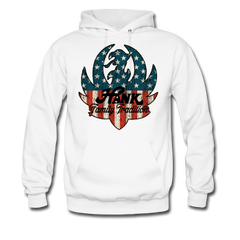 american flagfamily tradition ruger logo pullover hoodie