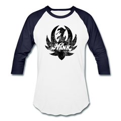 Distressed Black Ruger Logo Baseball Tee