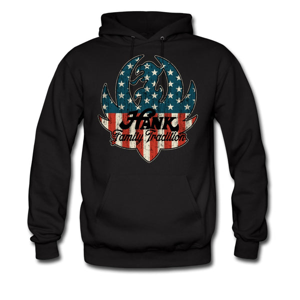 American Flag/Family Tradition Ruger Logo Pullover Hoodie
