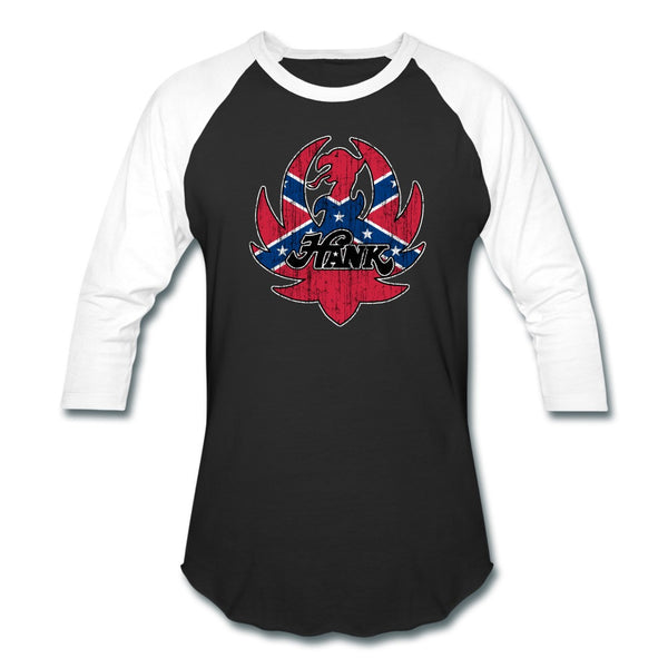 Rebel Ruger Logo Baseball Tee