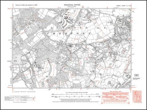 Chertsey (south), Addlestone (west), Ottershaw, Surrey 1938 PDF file