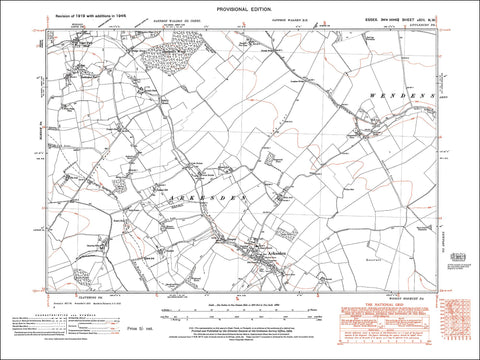 Arkesden Essex in 1946 - 1.7 MB PDF file