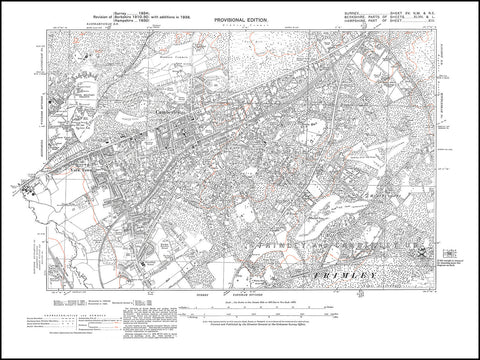 Camberley, York Town, Frimley (north), Surrey 1938 PDF file