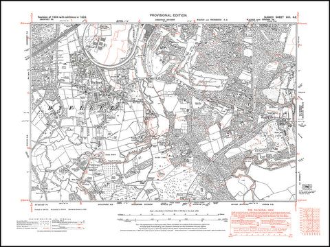 Byfleet, Wisley, Cobham (west), Walton upon Thames (south), Surrey 1938 PDF file