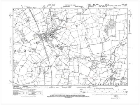 Bures, Mount Bures, Wormingford, Essex 1925 - 1.8 MB PDF file