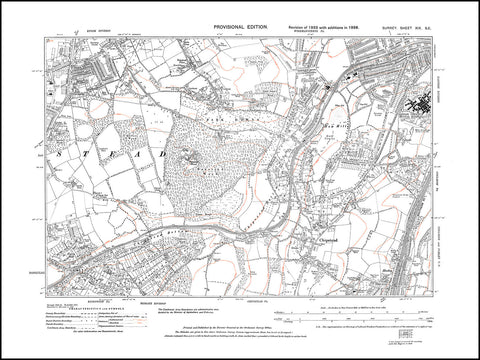 Banstead (south), Park Downs, Chipstead, How Hills, London County Hospital, Surrey 1938 PDF file