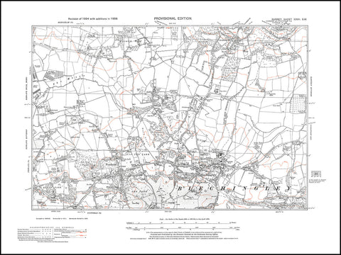 Bletchingley, Nutfield, Surrey 1938 PDF file