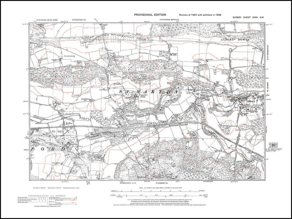 Albury, Chilworth, Surrey 1938 PDF file
