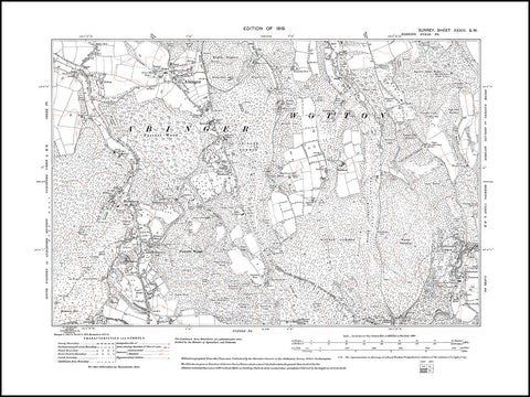 Abinger, Holmbury St Mary, Wotton Common, Surrey 1919 PDF file