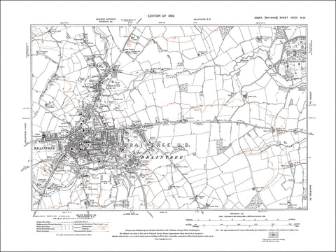 Braintree, Bocking, Essex 1924 - 2.0 MB PDF file