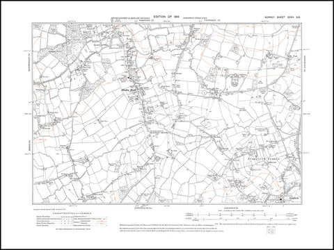 Blindley Heath, Lingfield Common, Surrey 1914 PDF file